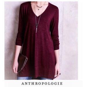 Anthropologie Pure + Good Tunic Long Sleeve